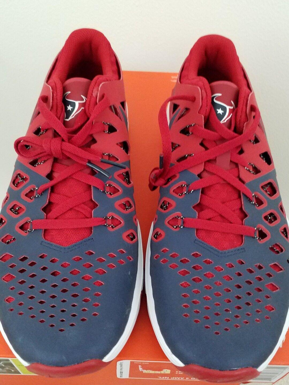 Houston Texans Nike Train Speed 4 Men's shoes Size Size Size 10.5 NFL 082939