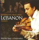 Instrumental Music from Lebanon by Andr' Hajj (CD, Jul-2009, Arc Music)