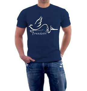 Freedom arabic calligraphy t shirt ebay Arabic calligraphy shirt