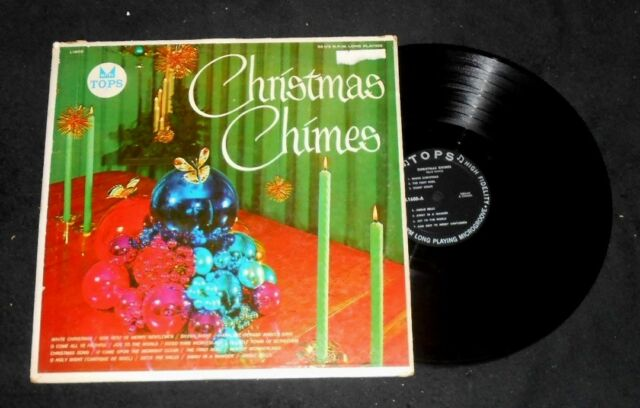 Christmas Chimes and Organ Record Album- Performed by Felix Vance - Tops Record