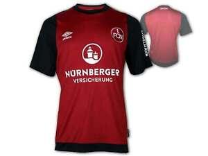 Umbro-1-FC-Nuernberg-Heim-Trikot-2019-20-rot-FCN-Home-Jersey-Club-Shirt-S-XXL