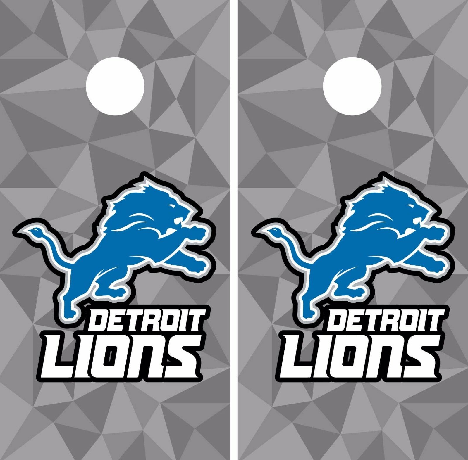Detroit  Lions Cornhole Skin Wrap NFL Football Flag Art Decor Vinyl Decal DR30  various sizes