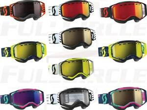 Scott USA Prospect Goggle Dual Pane Antifog Multi-Color Snow Snocross Snowmobile