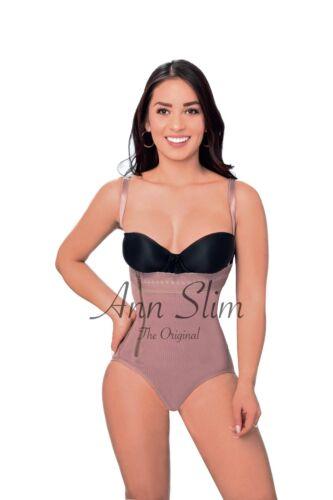 ANN SLIM 8001//STRAPLESS//BODY SHAPER//SIDE ZIPPER//FAJA COLOMBIANA//ORIGINAL