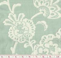 Pk Lifestyles Pelham Pomegranate Vapor Green Woven Floral Upholstery Fabric Bty