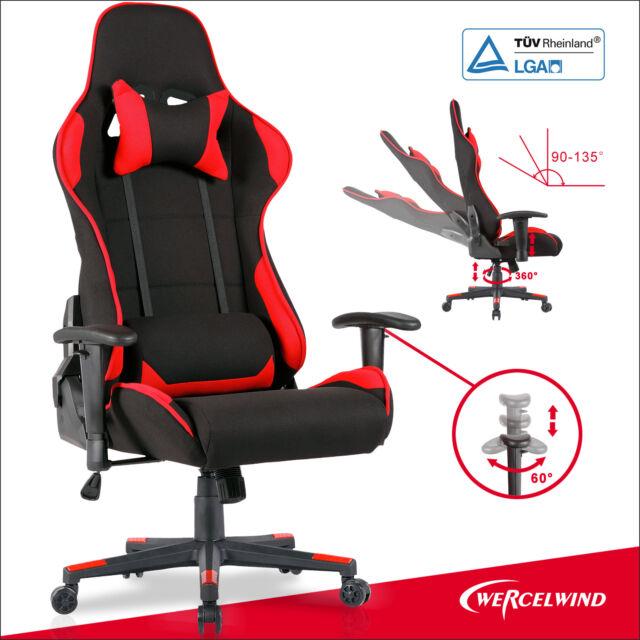 Racing Uenjoy X Rot Schwarz Gaming Schreibtischstuhl Racer Stuhl Bürostuhl eW9bDEH2IY