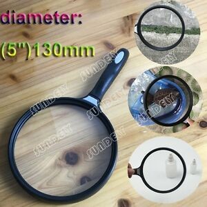 Extra Large Handheld Magnifier Fine Print Map Reading New