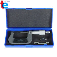New Listing1 2 0001 Carbide Tipped Precision Micrometer New Outside Micrometer