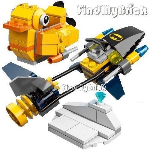 76010 NEW Lego Batman Scuba Duck Boat Jewel /& Ice No Minifig No Penguin No Box