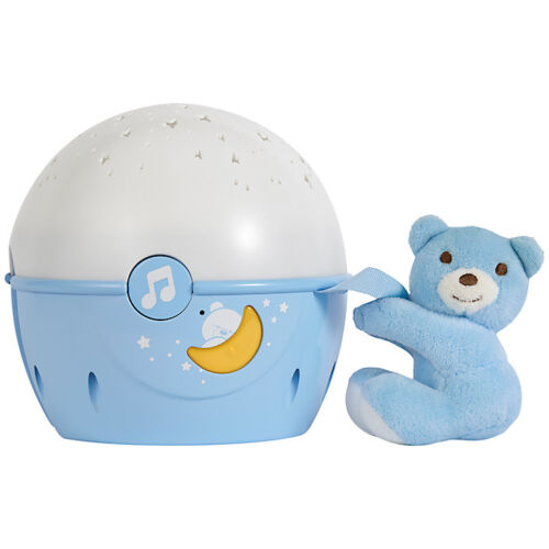 NEW CHICCO NEXT 2 STARS PROJECTER BABY NIGHT LIGHT//SOOTHING MUSIC BLUE