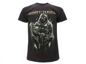 T-Shirt-Originale-Disturbed-Ufficiale-Maglia-Maglietta-Alternative-Metal