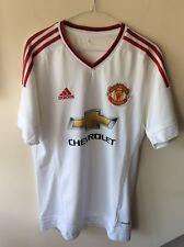 bf77d28a9 item 8 Mens Adidas Manchester United Away White Football Shirt U.K. Size  Medium -Mens Adidas Manchester United Away White Football Shirt U.K. Size  Medium