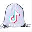 Boys-Girls-Tik-Tok-Drawstring-Backpack-PE-Swim-Gym-Sports-School-Bag-Rucksack-UK thumbnail 6