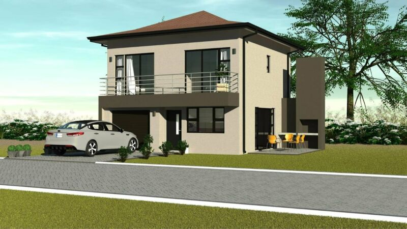 3 Bedroom House in Security Estate - PLOT AND PLAN - DIFFERENT OPTIONS AVAILABLE