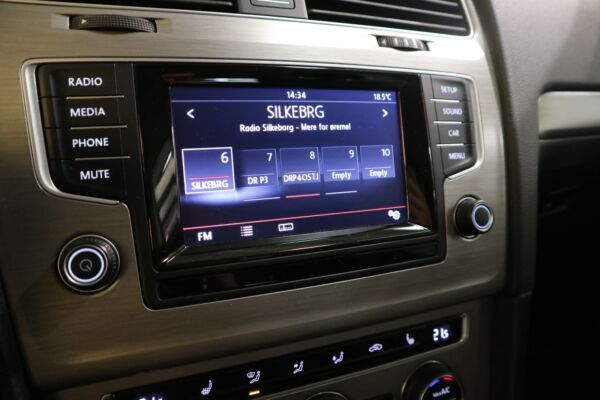VW Golf VII 1,4 TSi 122 Comfortl. Vari. BMT - billede 5