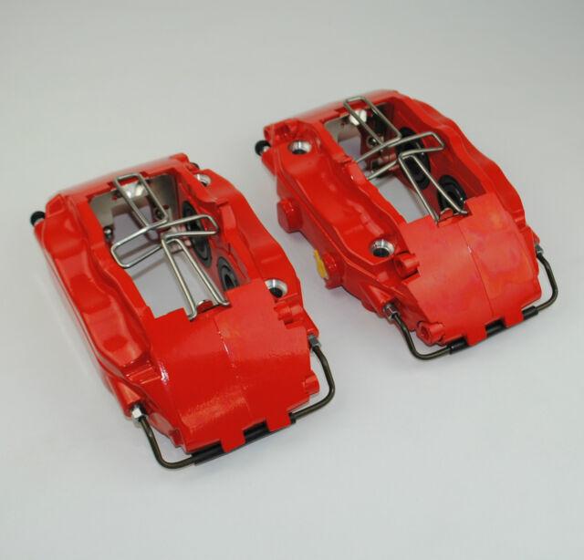 JP Bremssattel Satz rot vorne passend für Porsche 964 C2 C4 Turbo 993 / Audi RS2