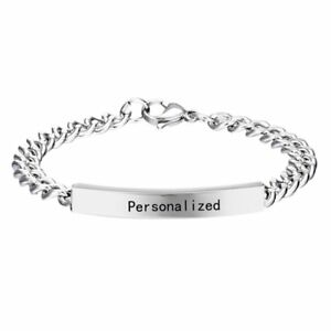 Personalized-Titanium-Steel-Engraved-Custom-Letters-Name-Chain-Bracelet-Bangle