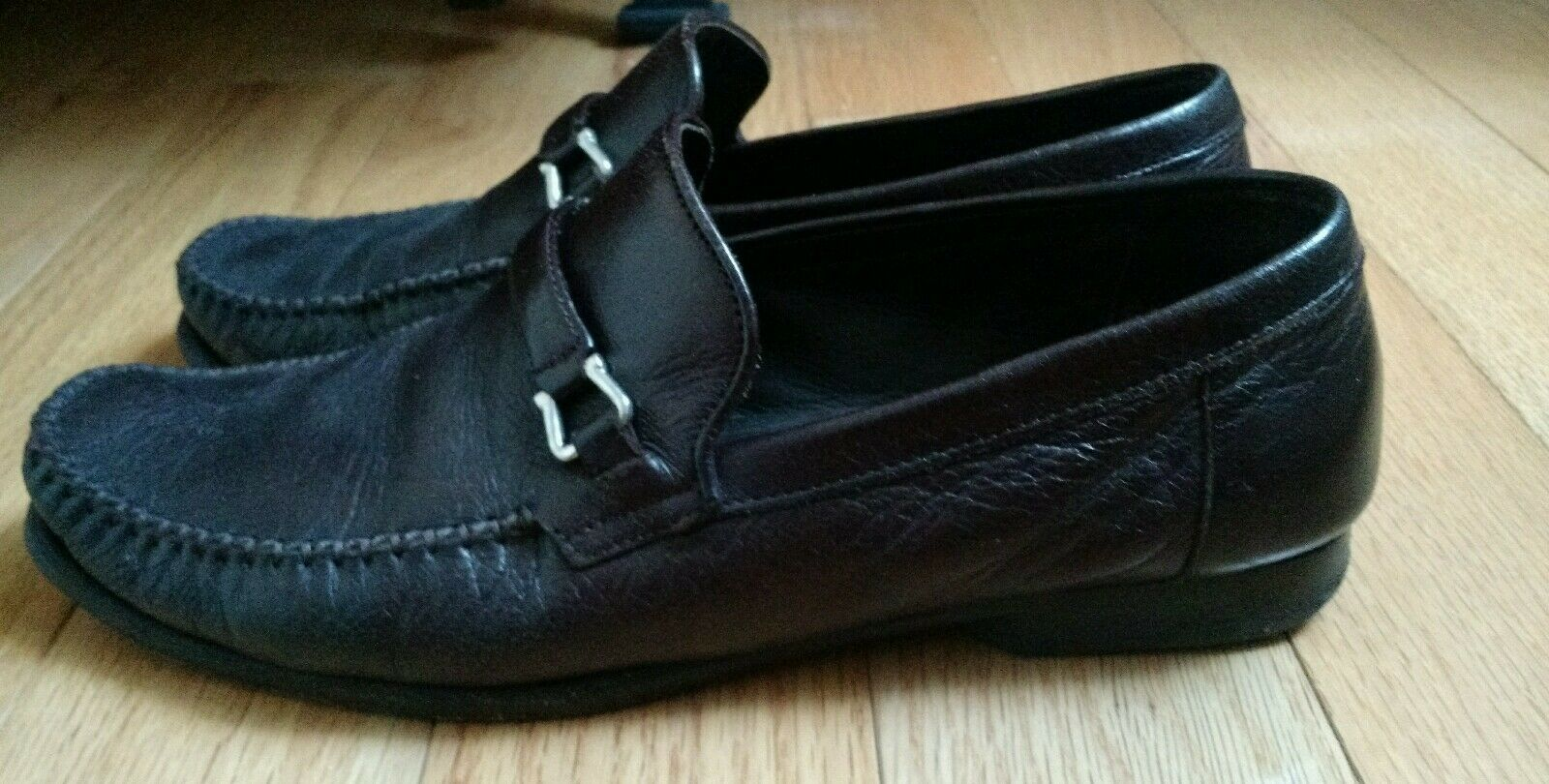 470 Bruno Magli Leather Dress Tolomino Slip-on Moccasin-style Loafers shoes 7