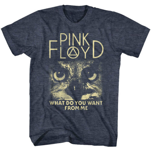 Pink Floyd What do you Want from Me Track Men/'s T Shirt Owl Eyes Rock Band Tour