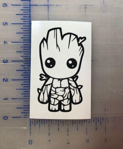 "Baby Groot Vinyl Decal 2.5/"" 3.5/"" 4.5/"" III Guardians of the Galaxy Marvel Window"