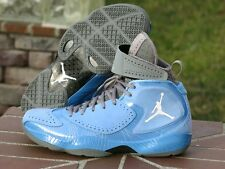 "2012 Nike Air Jordan Deluxe University Blue ""UNC""  484654-400 SIZE 9.5"