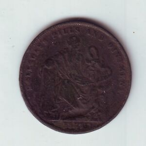 1857-Token-1-Penny-Professor-Holloway-039-s-Pills-amp-Ointment-London-England-GB