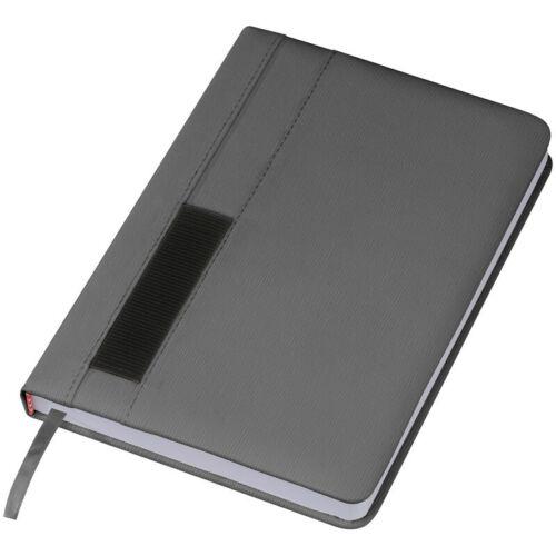kariert Farbe DIN A5 Notizbuch grau 192 S