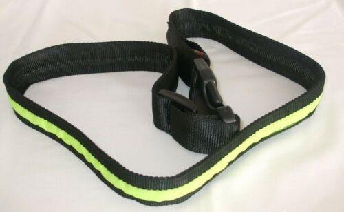 LED Reflective Flashing Crossbody Strap Cycling Jogging Walking Dog Walking