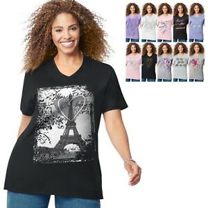 Just-My-Size-Short-Sleeve-Graphic-Tee-GTJ181-Buy-Two-Get-Third-One-Free