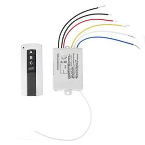 220V-3-Kanal-Funkfernbedienung-digitale-Schalter-fuer-Lampe-SL