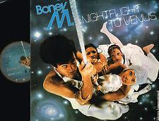 "BONEY M Nightfligt To Venus 12"" LP GATEFOLD Atlantic HANSA UK 1978 K 50498 A2/B1"