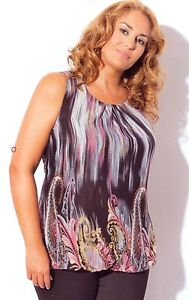 Camiseta Top De Mujer Tallas Grandes Taglie Forti Donna Woman S Plus Size Ebay
