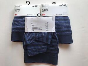15ed34df3e91 Lot of 3 Men's Uniqlo Supima Cotton Low Rise No Fly Boxer Briefs ...