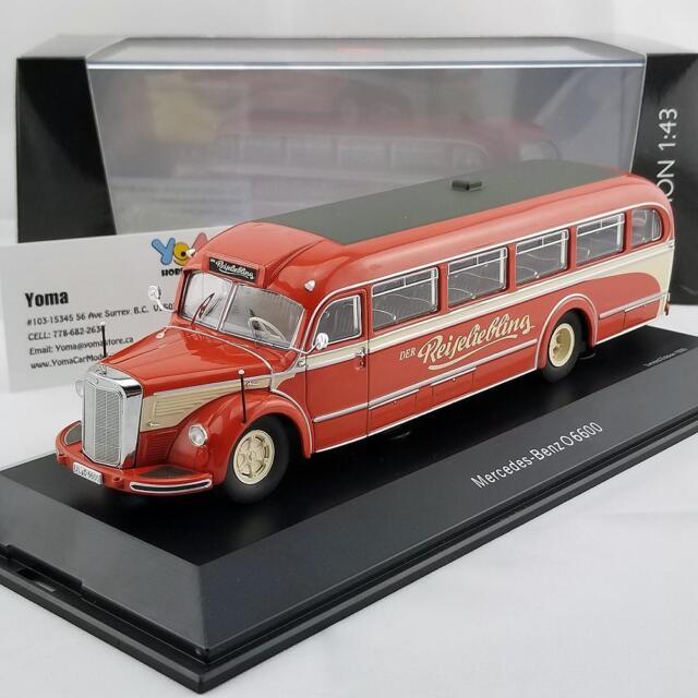 rojo//beige 1950 Mercedes-benz o 6600