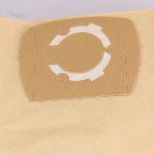 10 Staubsaugerbeutel geeignet Scheppach ASP30-0  ASP30-ES 30L Nass-Trockensauger