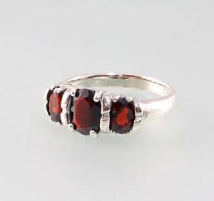9927652 925er Silber Ring Granat Gr.56