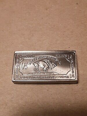 4oz Iron Bullion Bar Buffalo