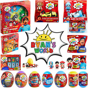 Ryan-039-s-World-licensed-Ryans-World-toys-Pop-n-Race-Mystery-Eggs-Figures-etc