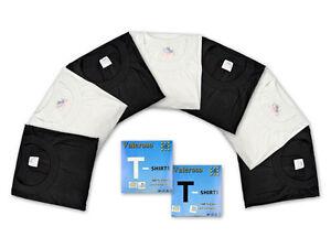 T-Shirt-2-20-Piece-Black-amp-White-by-Valeroso-Cotton-M-L-XL-XXL-XXXL