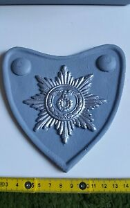 Deko Metall Ringkragen Schutzstaffel mit Reichsadler und Polizeistern 14x14cm