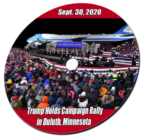 2020 President Trump Holds Campaign Rally in Duluth Minnesota 09.30.2020