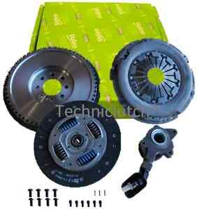 DUAL-MASS-TO-SMF-FLYWHEEL-AND-VALEO-CLUTCH-CSC-FOR-FORD-MONDEO-MK3-2-0-6-TDCI