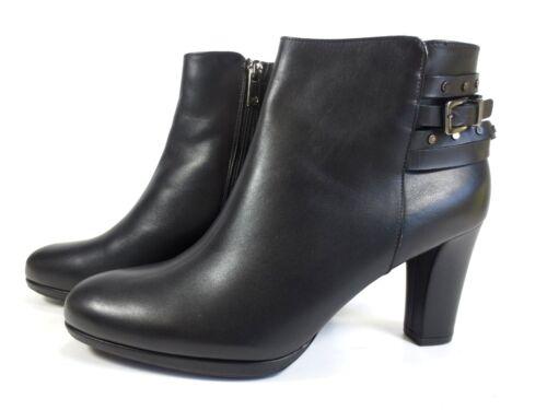 PETER KAISER feine Leder Schuhe Stiefeletten Ankle Boots schwarz NEU