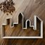 3 Tailles City Skyline Cookie Cutter-Fondant Cutter-Cityscape Biscuit Cutter
