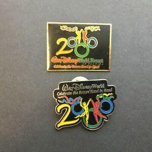 Celebrate-The-Future-Hand-in-Hand-2000-Dancers-2-Pins-Disney-Pin-1-amp-2
