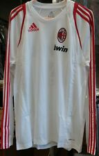 NWT Authentic Adidas AC Milan Training Jersey Medium pirlo beckham maldini era