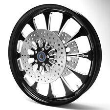 "Black 21"" Front Harley Davidson Wheel for 14-17 Street Glides w/ Linked ABS"