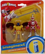 Imaginext Power Rangers GOLDAR e Lord ZEDD ACTION FIGURE NUOVA RARA