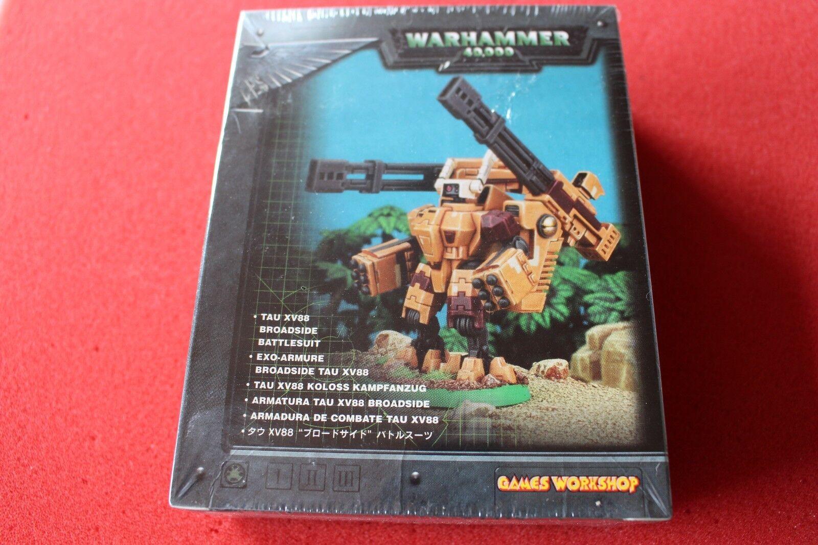 Games Workshop Warhammer 40k Tau XV88 Broadside Battlesuit Metal BNIB New OOP