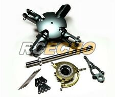 Flybarless Metal 3D Floating 4 Blades Rotor Head Set for 600 Helicopter RH250
